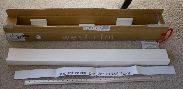 West Elm Wall Shelf