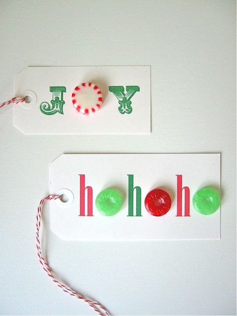 CandyGiftTags