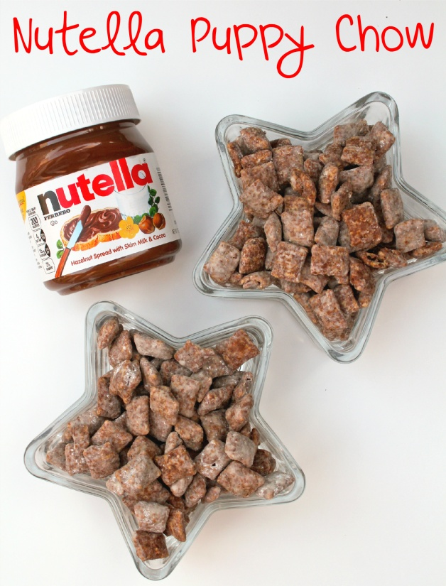 NutellaPuppyChow