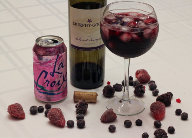 Red Wine Summer Spritzer