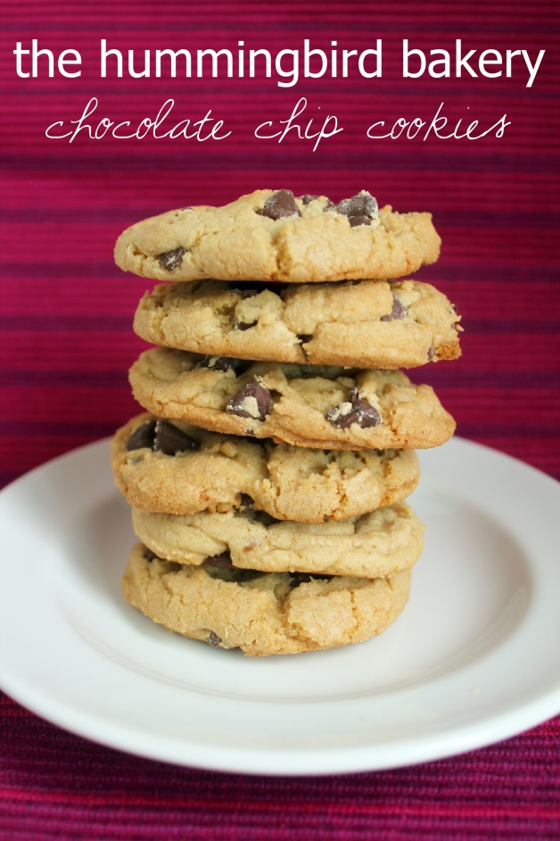 Recipe // Hummingbird Bakery Chocolate Chip Cookies