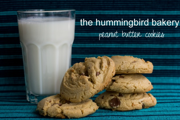 Recipe // Hummingbird Bakery Peanut Butter Cookies